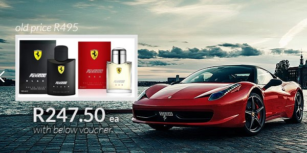 50% Off Ferrari Scuderia Fragrance - This Weekend Only!