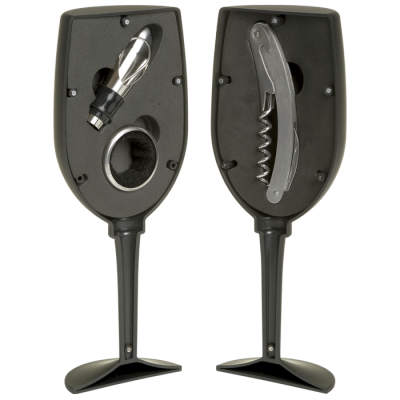 Wine Bottle Kit 3PC (Black), R189, from Mantality (South Africa)