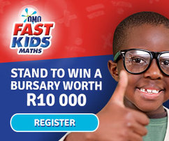 Improve Your Child's Maths and Stand a Chance to Win a R10,000 Bursary