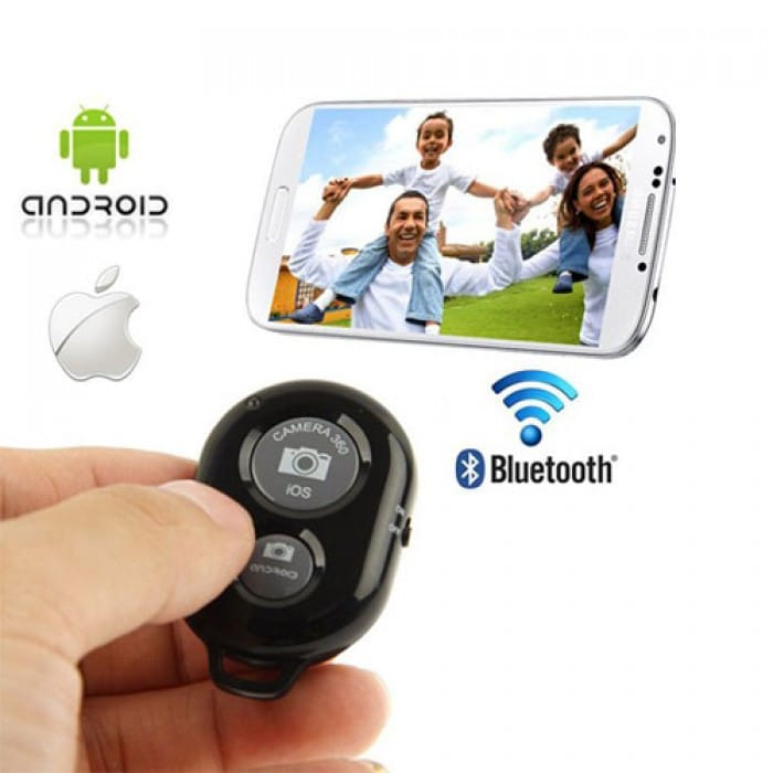 Bluetooth Selfie Remote Shutter - iPhone / iPad / Android - R89 from iToys (South Africa)