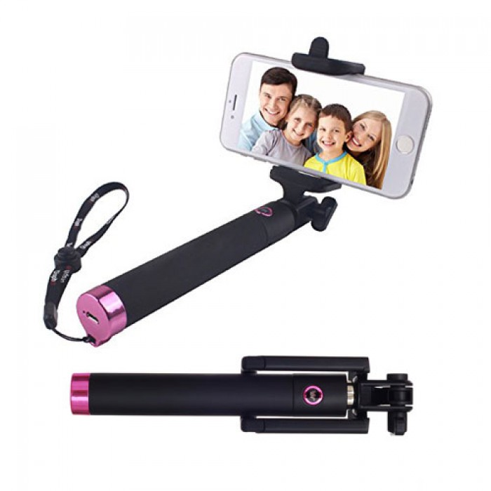 Carbon Fibre Selfie Stick (Pink) - R349 from iToys (South Africa)