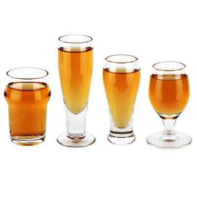 CRAFT SHOTS BEER GLASSES SET (4PCS) - R199 from Mantality (South Africa)