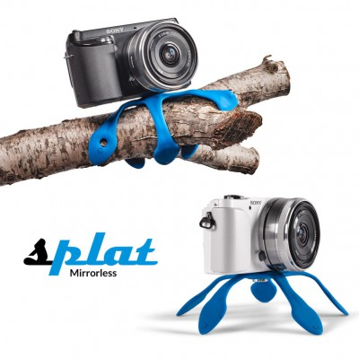 MIGGO SPLAT FLEXIBLE TRIPOD FOR PERSONAL CAMERAS (BLUE) - R350 from Mantality (South Africa)